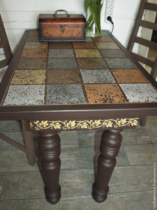 """Мебель ручной работы. Ярмарка Мастеров - ручная работа. Купить Стол """"Кофейные посиделки""""). Handmade. Стол для кухни, мебель для дома"""