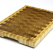 Для дома и интерьера handmade. Livemaster - original item End cutting Board №75. Handmade.