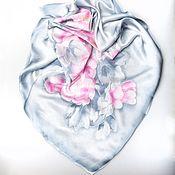 Аксессуары handmade. Livemaster - original item Batik silk scarf