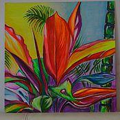 """Картины и панно ручной работы. Ярмарка Мастеров - ручная работа Абстрактная картина """"Рассвет"""". Handmade."""