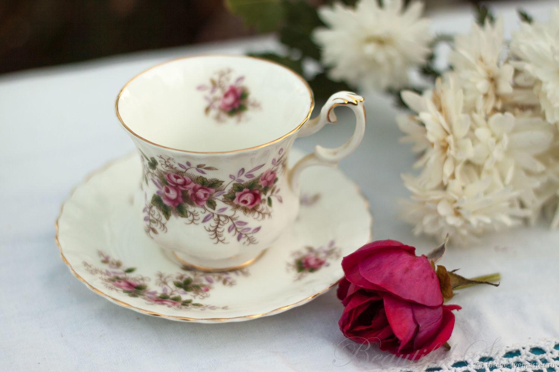 Royal Albert Lavender rose tea pair, Single Tea Sets, Belorechensk,  Фото №1
