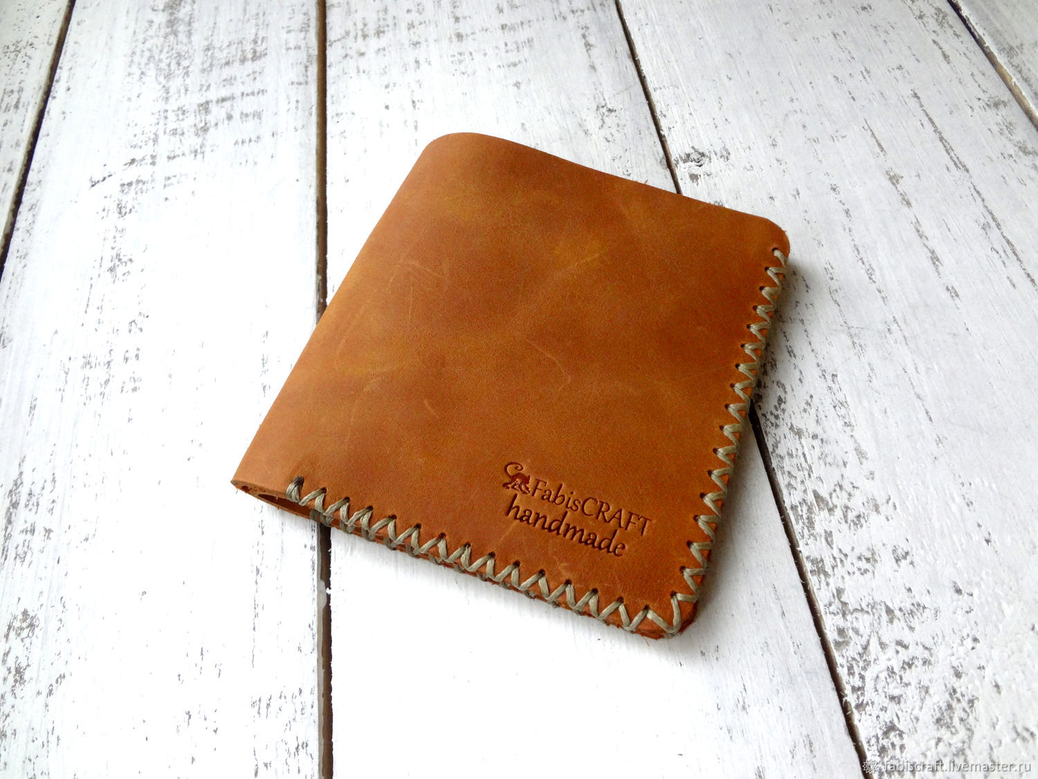Mini wallet handmade genuine leather, Purse, Moscow,  Фото №1
