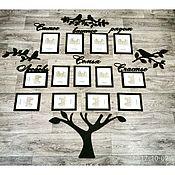 Для дома и интерьера ручной работы. Ярмарка Мастеров - ручная работа Декоративное панно из дерева.. Handmade.