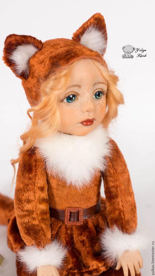 Коллекционные куклы ручной работы. Ярмарка Мастеров - ручная работа. Купить Лиса Алиска. Handmade. Рыжий