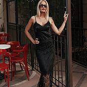 Одежда handmade. Livemaster - original item Black dress-trasformer underwear style.. Handmade.