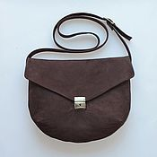 Сумки и аксессуары handmade. Livemaster - original item Bag genuine leather art.433 brown. Handmade.