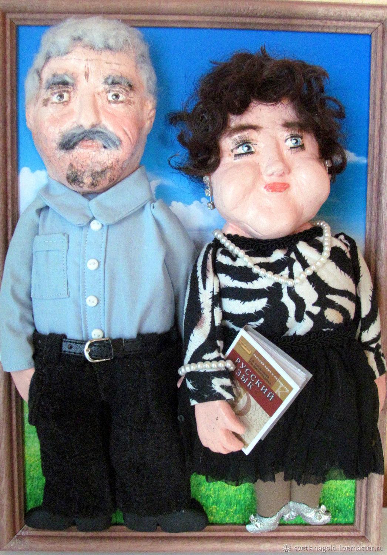 кукла шарж на заказ по фото больше количество точек