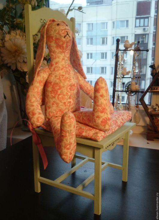 Игрушки животные, ручной работы. Ярмарка Мастеров - ручная работа. Купить Стульчик для куклы Мята и роза. Handmade. Салатовый, лён