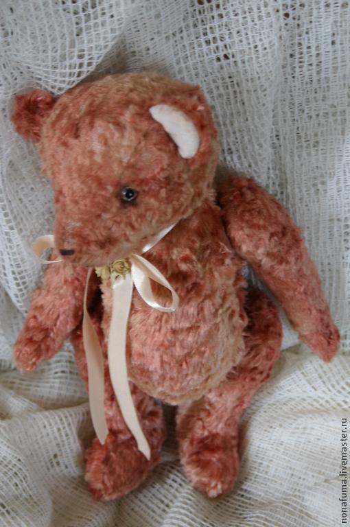 Мишки Тедди ручной работы. Ярмарка Мастеров - ручная работа. Купить Квят Осинский). Handmade. Розовый, старый мишка