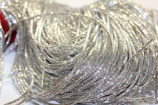 Вышивка ручной работы. Ярмарка Мастеров - ручная работа. Купить Трунцал индийский Серебро 1 мм (1194). Handmade. Канитель
