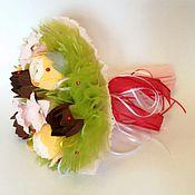 Цветы и флористика ручной работы. Ярмарка Мастеров - ручная работа Букет из конфет Осенний с лютиками. Handmade.