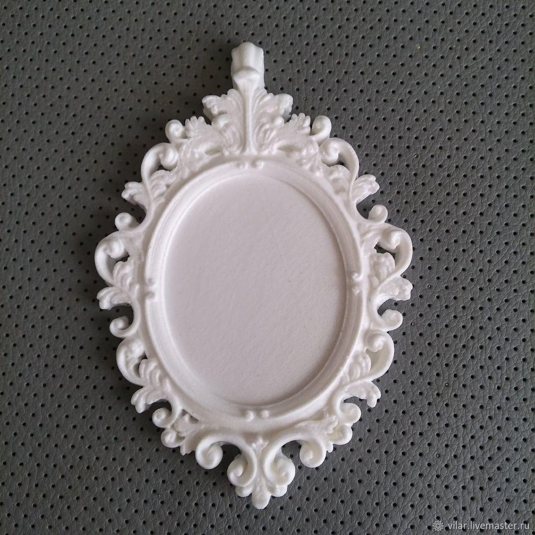 Рамка - медальон, Декор для декупажа и росписи, Балашиха,  Фото №1