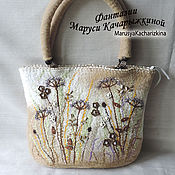 """Сумки и аксессуары ручной работы. Ярмарка Мастеров - ручная работа сумка """" сухоцветы"""". Handmade."""
