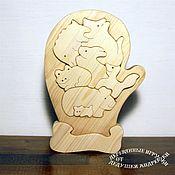 Куклы и игрушки handmade. Livemaster - original item Educational toys. Puzzle. The balancer. Mitten!. Handmade.