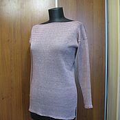 Одежда ручной работы. Ярмарка Мастеров - ручная работа Джемпер из льна с вискозой. Handmade.