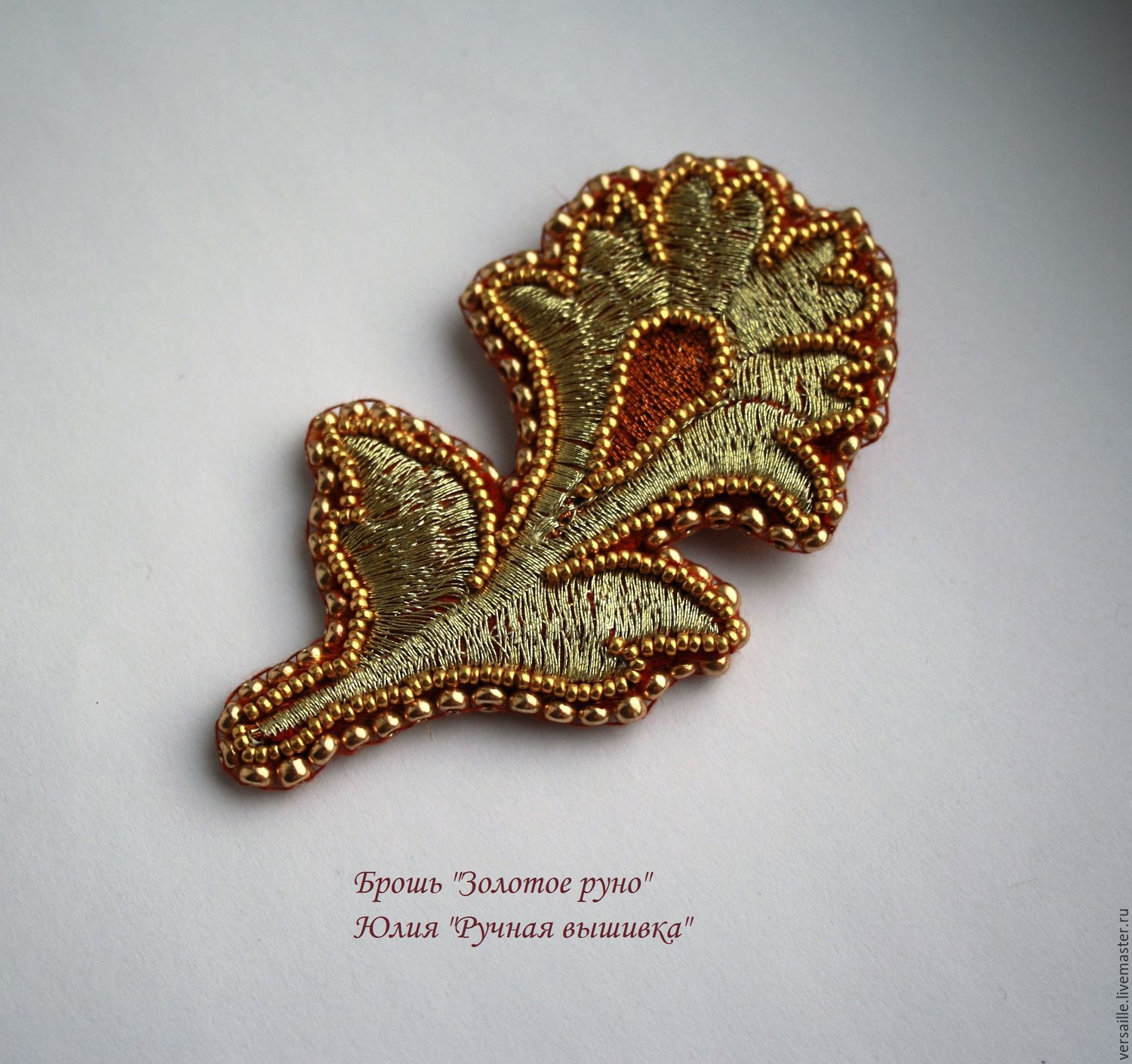 category brooch hand holly embroidery blue agnesandcora butterfly