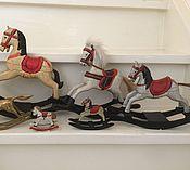 Винтаж ручной работы. Ярмарка Мастеров - ручная работа Набор лошадок для куклы или мишки. Handmade.