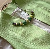 Одежда ручной работы. Ярмарка Мастеров - ручная работа Удлиненный жилет Мята. Handmade.