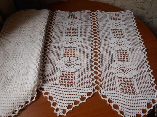 Текстиль, ковры ручной работы. Ярмарка Мастеров - ручная работа. Купить Штора дизайнерская, 100 см на 65 см. Handmade.