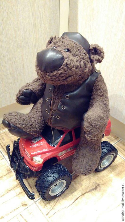 """Игрушки животные, ручной работы. Ярмарка Мастеров - ручная работа. Купить Медведь """"Стёпушка"""". Handmade. Коричневый, шплинты"""