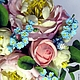 Букеты ручной работы. Нежность. Olesya (lesmell). Интернет-магазин Ярмарка Мастеров. Незабудки, нежность, Холодный фарфор, цветы