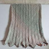 Одежда ручной работы. Ярмарка Мастеров - ручная работа юбка льняная ручной вязки размер 44-48. Handmade.