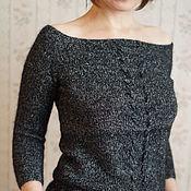 Одежда ручной работы. Ярмарка Мастеров - ручная работа Пуловер Black coffee. Handmade.