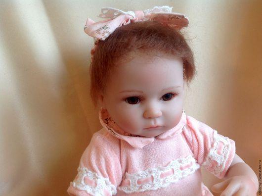 Куклы-младенцы и reborn ручной работы. Ярмарка Мастеров - ручная работа. Купить Кукла Реборн (Reborn) Девочка. Handmade. Кремовый