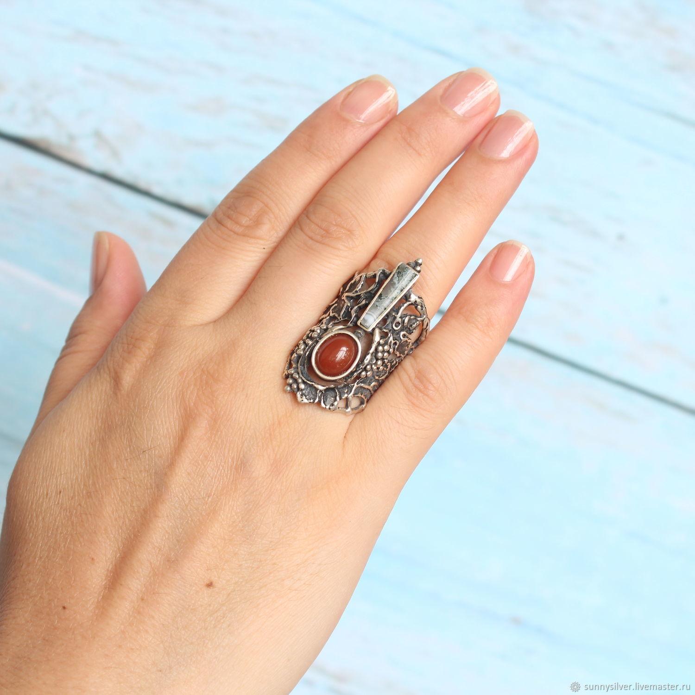 Кольцо серии Этнический Авангард #46 серебро 925 (ВИДЕО) – купить на Ярмарке Мастеров – M8IOYRU | Кольца, Ереван