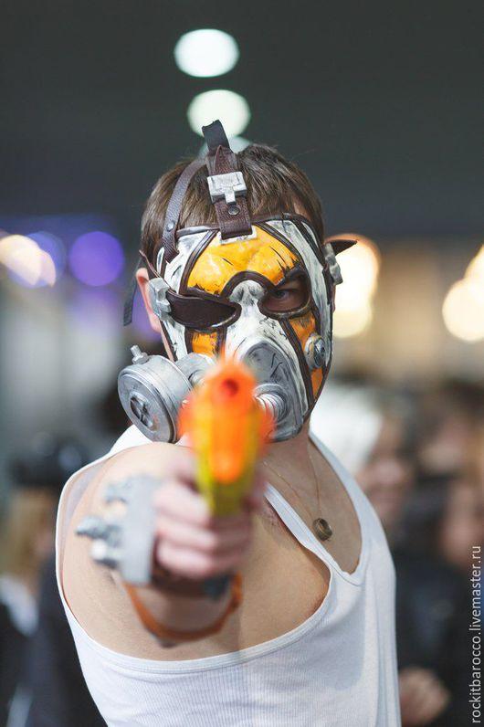 Карнавальные костюмы ручной работы. Ярмарка Мастеров - ручная работа. Купить маска и броня Крига и  из игры Borderlands. Handmade. Коричневый