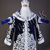 Одежда ручной работы. Ярмарка Мастеров - ручная работа Костюм Деда Мороза бархат. Handmade.