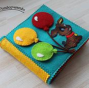 Куклы и игрушки ручной работы. Ярмарка Мастеров - ручная работа Книжка-малышка. Handmade.