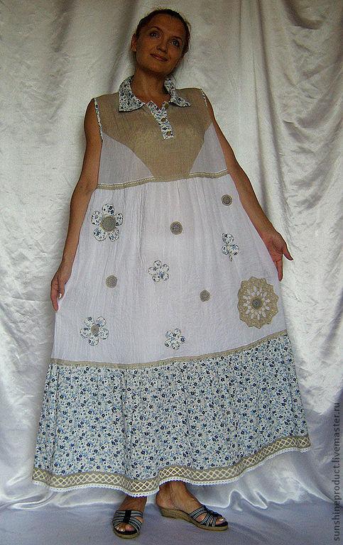 Купить Деревенское Платье