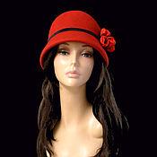 Аксессуары handmade. Livemaster - original item hats: The Cloche al. Handmade.
