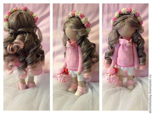 """Куклы Тильды ручной работы. Ярмарка Мастеров - ручная работа. Купить Интерьерная кукла """"Розочка"""". Handmade. Кукла ручной работы"""