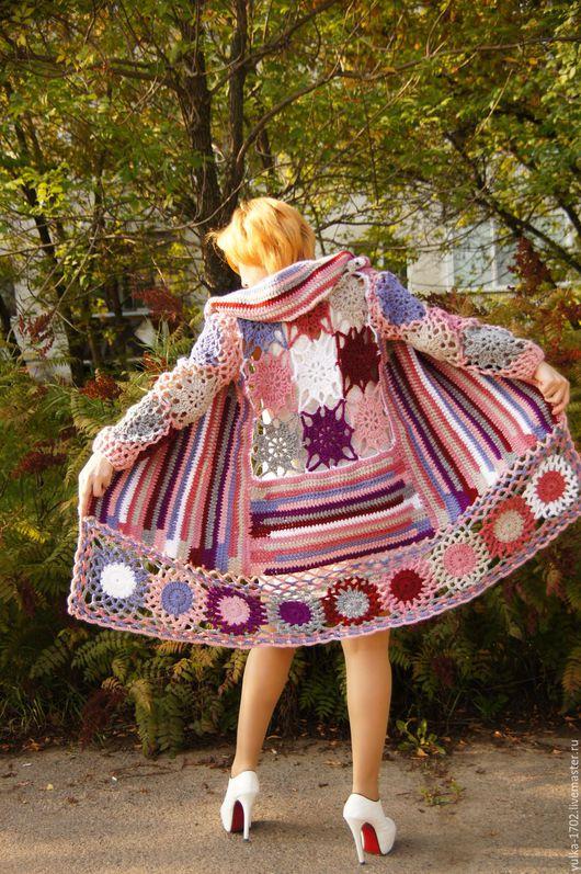 Верхняя одежда ручной работы. Ярмарка Мастеров - ручная работа. Купить Пальто а ля You ли Я. Handmade.