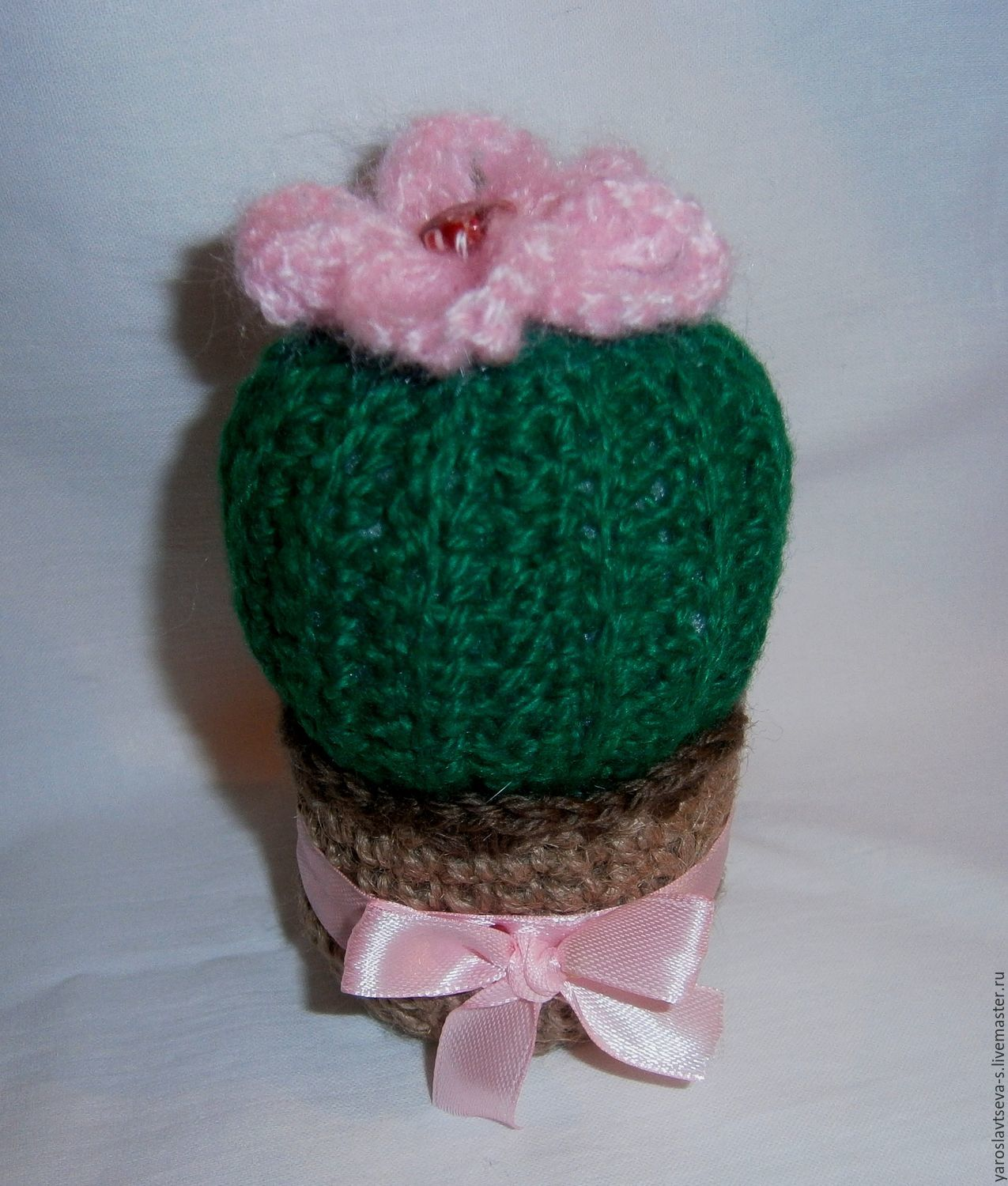A Small Cactus Pincushion Shop Online On Livemaster With