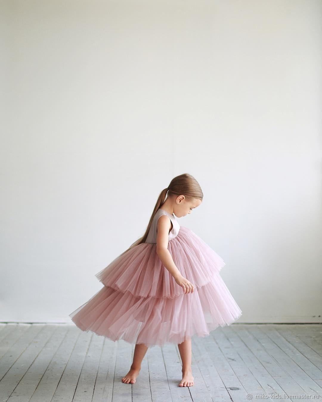 Волшебное двух ярусное платье из фатина, розовое, Платья, Екатеринбург,  Фото №1