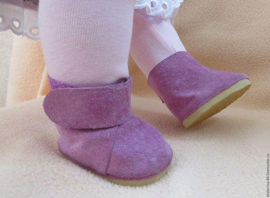 Одежда для кукол ручной работы. Ярмарка Мастеров - ручная работа. Купить Ботиночки для куклы 2. Handmade. Беби бон