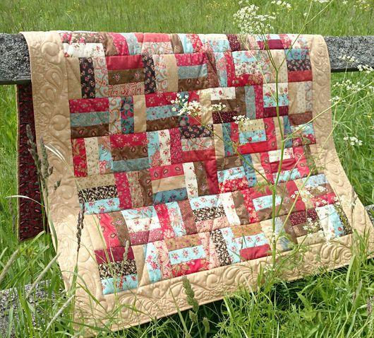 Текстиль, ковры ручной работы. Ярмарка Мастеров - ручная работа. Купить Лоскутное одеяло Завалинка пэчворк. Handmade. Комбинированный