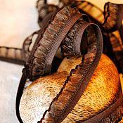 """Заготовки для кукол и игрушек ручной работы. Ярмарка Мастеров - ручная работа Рюша-резинка """"Шоколад"""" 2 РАЗМЕРА  (Чехия). Handmade."""