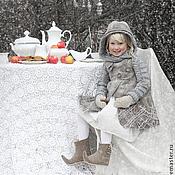 Работы для детей, ручной работы. Ярмарка Мастеров - ручная работа Нежка из зимней сказки... Handmade.