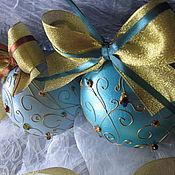 Подарки к праздникам handmade. Livemaster - original item Balloons painting the Mystery of the Golden forest. Handmade.