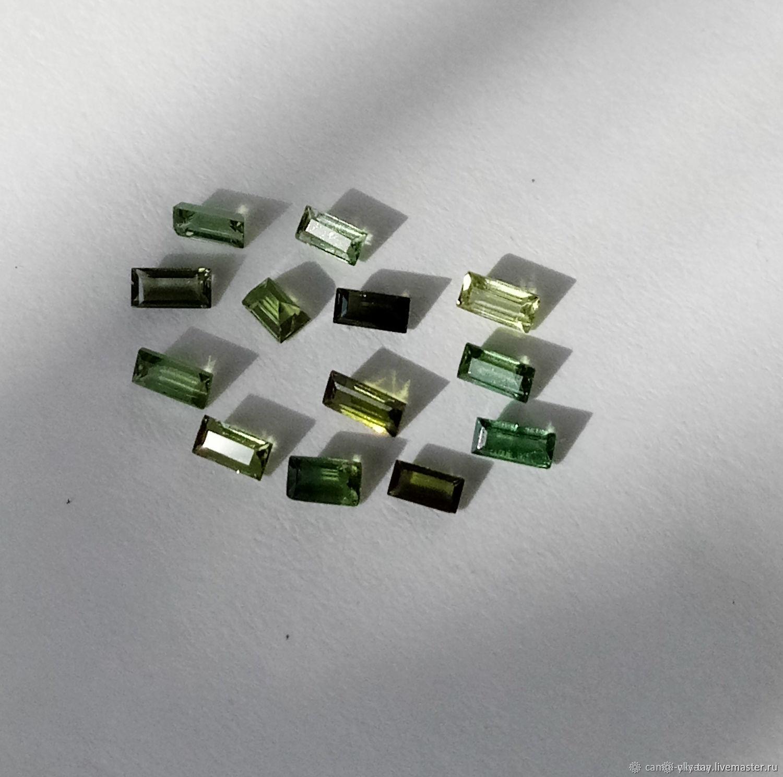 Green tourmaline kit, Cabochons, Pyatigorsk,  Фото №1
