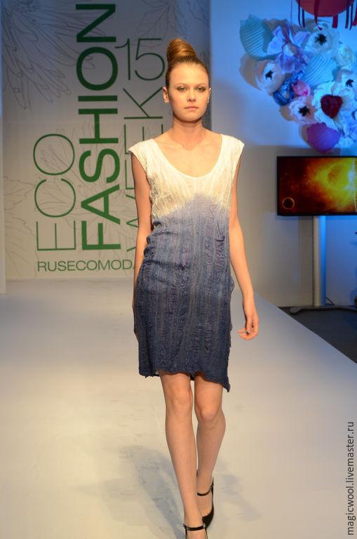 Платья ручной работы. Ярмарка Мастеров - ручная работа. Купить Маленькое шелковое платье. Handmade. Белый, нарядное платье
