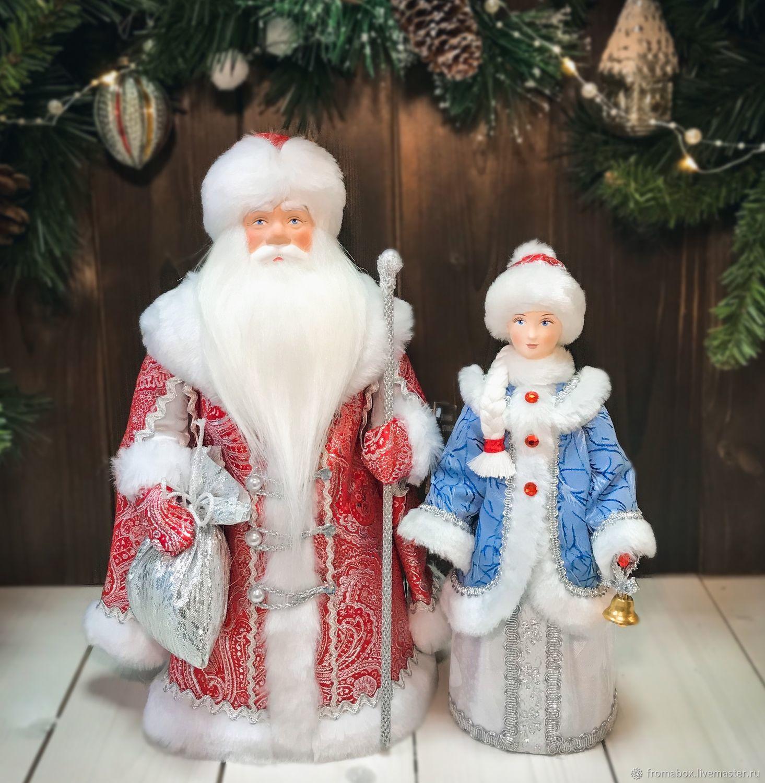 Дед Мороз и Снегурочка под елку, Игрушки, Хотьково,  Фото №1