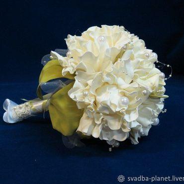 Свадебный салон ручной работы. Ярмарка Мастеров - ручная работа Букет-дублер для невесты. Handmade.
