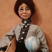 Народная кукла ручной работы. Ярмарка Мастеров - ручная работа Учительница первая моя. Handmade.