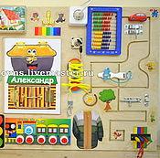 Куклы и игрушки handmade. Livemaster - original item Educational Module Basebrd