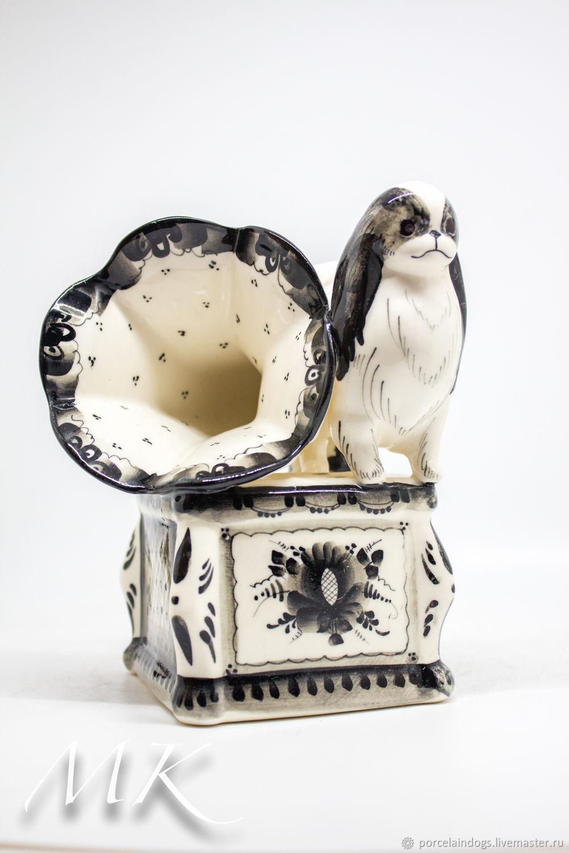 Music box 'gramophone Japanese hin', Figurines, Moscow,  Фото №1